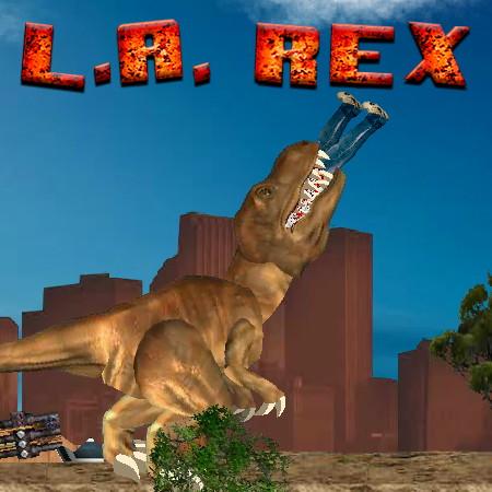 игра динозавр рекс в лос анджелесе