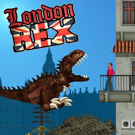 игры динозавр рекс в лондоне