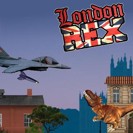 игра динозавр рекс в лондоне