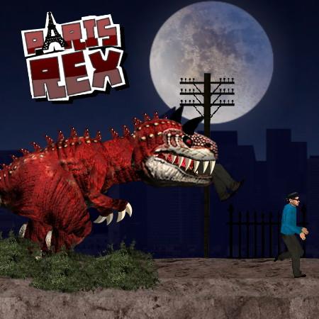 игры динозавр рекс в париже