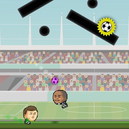 игры футбол головами на двоих