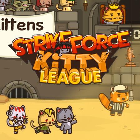 игра ударный отряд котят лига