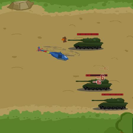 Tank Biathlon game