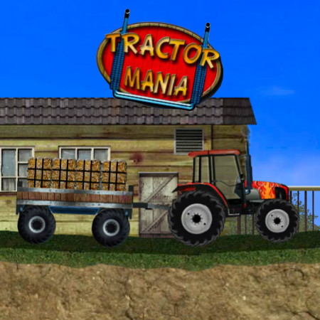 трактор мания