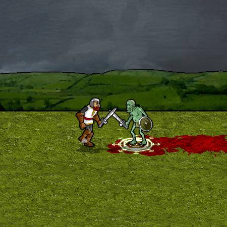 зомби рыцарь
