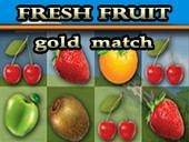 фрукты три в ряд