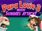 Папа Луи 3 атака мороженого