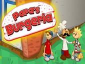 игры гамбургеры папы