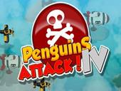 игра атака пингвинов 4