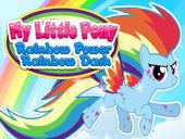 создай пони радуга дэш