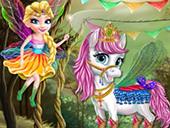 Салон пони феи Эльзы