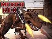 динозавр рекс в мексике